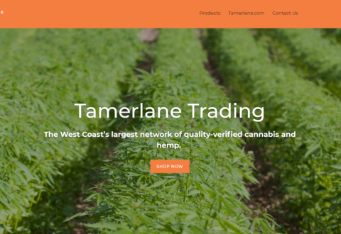Tamerlane Marketplace World's First Quality Verified Online Cannabis Marketplace